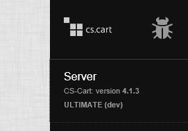 Debugger sidebar, Server