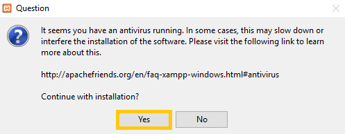 How To: Install XAMPP on Windows — CS-Cart 4 7 x documentation