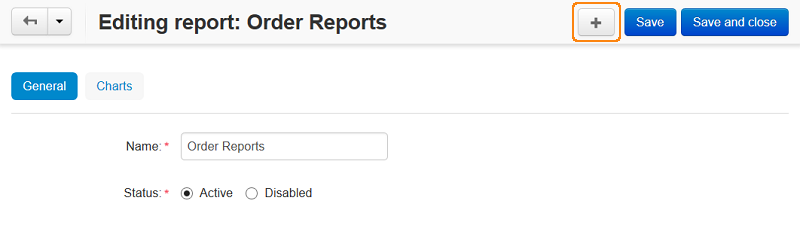 Add a chart to a sales report in CS-Cart and Multi-Vendor.