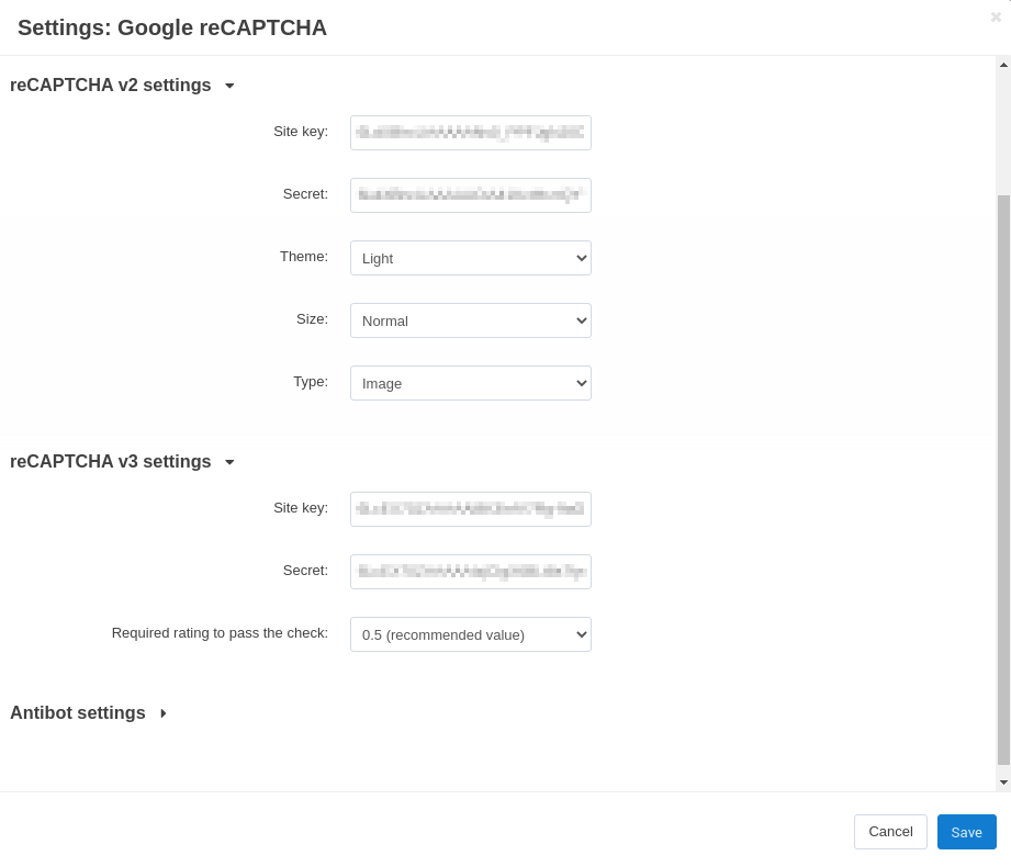 How To: Set up Google reCAPTCHA in Your Store — CS-Cart 4 10