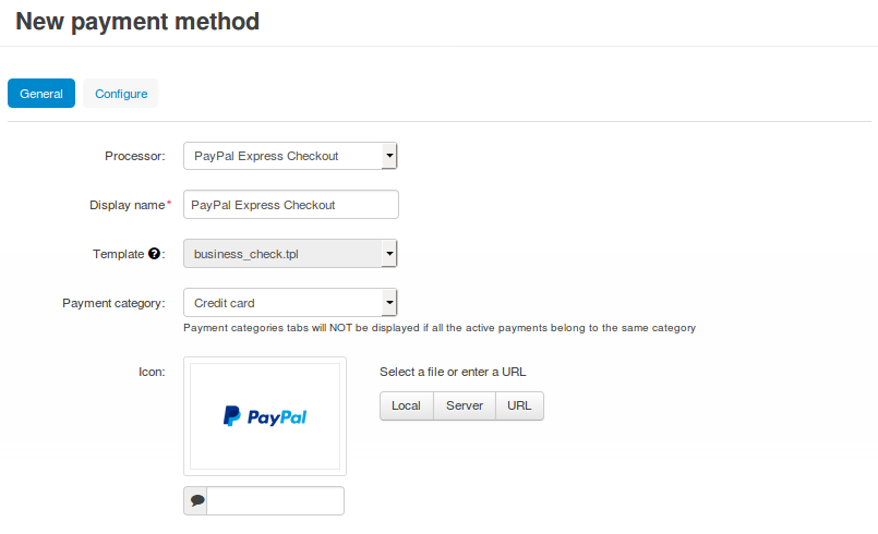 How To: Set up PayPal Express Checkout in CS-Cart — CS-Cart