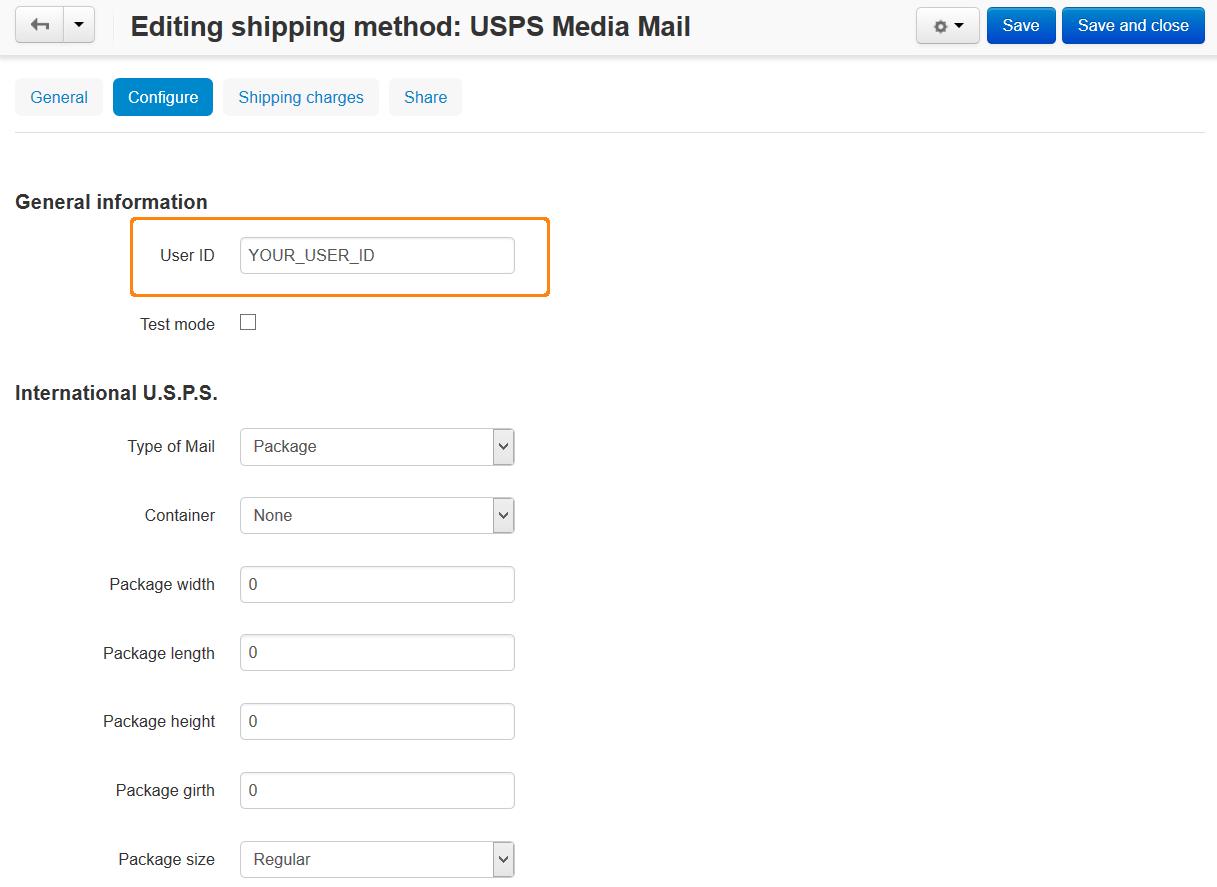 How To: Set up USPS in CS-Cart — CS-Cart 4 10 x documentation